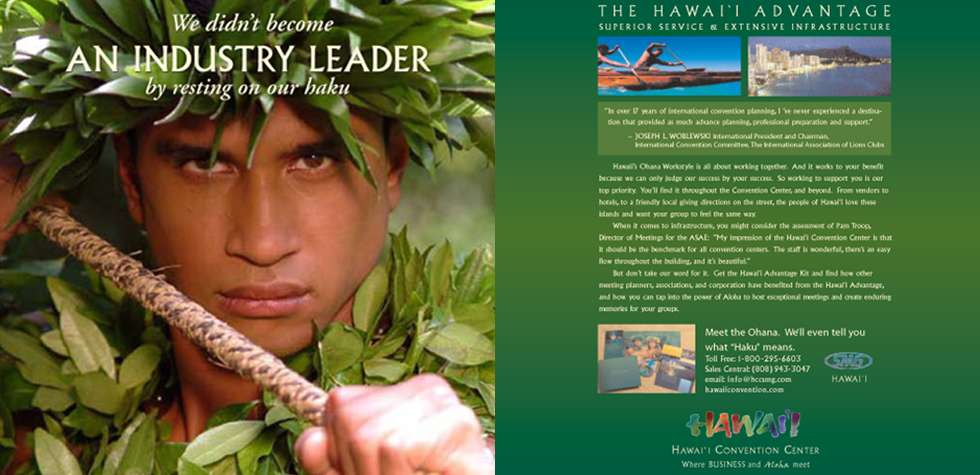 Print Adversting Campaign - Hawaii Convention Center