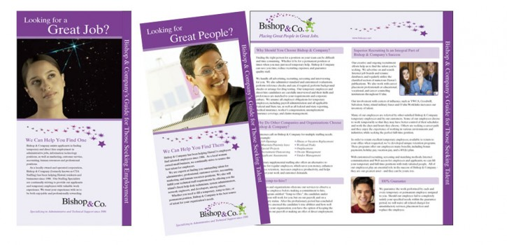 Bishop & Company Corporate Brochures