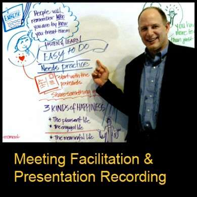 Facilitated Meetings & Recorded Presentations - Greg Zvelor works with Good Juju.