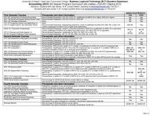 KCC-Student-Advising-Sheet sample
