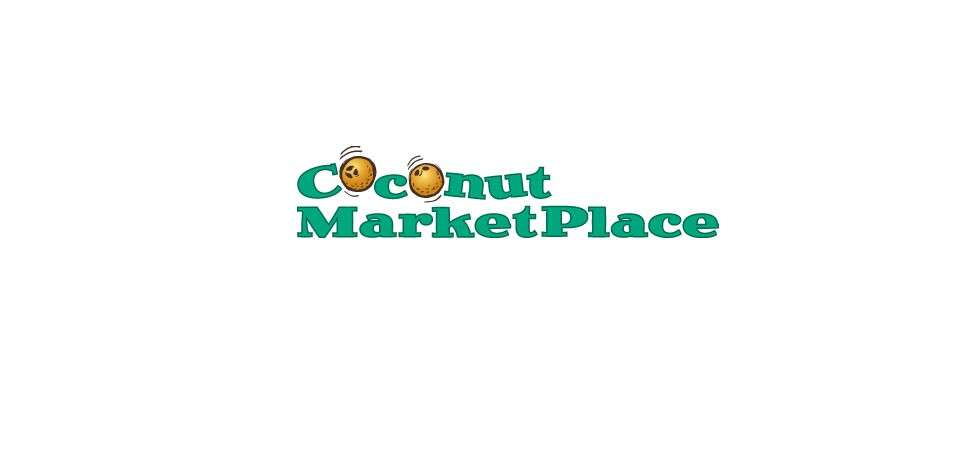 Coconut Marketplace Logo Design