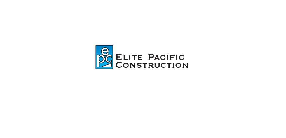 Elite Pacfiic Construction Logo Design