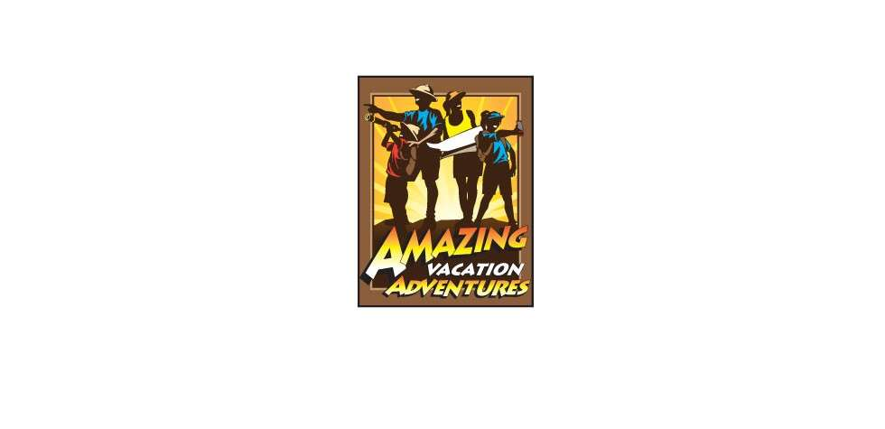 Amazing Vacations Adventures Logo Design