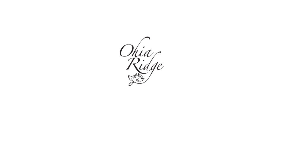 Ohia Ridge Logo Design