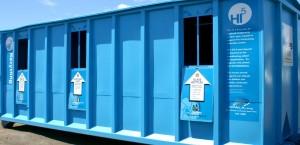 Opala.org Hi5 Recycling Donation Bins Signage