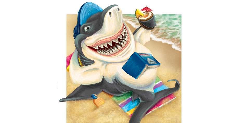 Ruth Moen illustration Paint Waikiki Aquarium