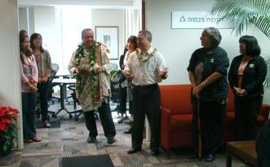 Kahu Silva Blessing Hawaii Dental Service HDS